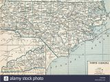 Bryson City north Carolina Map north Carolina State Map Stockfotos north Carolina State Map