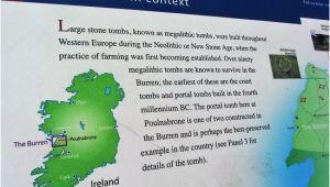 Burren Ireland Map Poulnabrone Dolmen Picture Of Burren Hills Walk Ballyvaughan