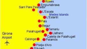 Calella Spain Map Costa Brava Espana Spain Map Spaintoursim Spain All