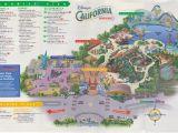 California Adventure Map Pdf Disney California Adventure Map Pdf Valid Map California California