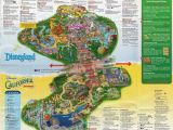 California Adventure Rides Map 10 Awesome Printable Map Disneyland California New California