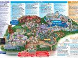 California Adventure Rides Map Map Of Disney California Adventure Park Reference California