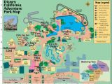 California Adventures Map Map Reference Map Of California Adventure Park Reference