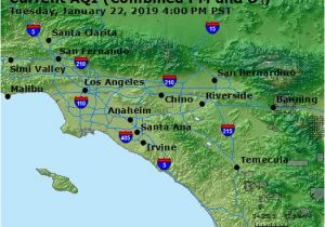 California Air Pollution Map Airnow Central La Co Ca Air Quality