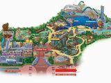 California Amusement Parks Map Maps Of Disneyland Resort In Anaheim California
