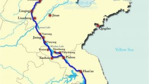 California Canals Map Grand Canal Of China Map Chinese Canals and Roadways Joined Rural
