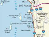 California Coast attractions Map Map San Clemente California Klipy org