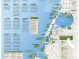 California Coast attractions Map San Francisco California Map Unique northern California Map Coast