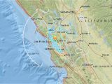 California Earthquake Map Live Live Earthquake Map California Best Of San Francisco Earthquake Map