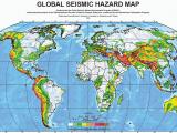 California Earthquake Probability Map Major Earthquake Zones Worldwide