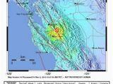 California Earthquake today Map Bsl Hazard Information