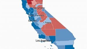 California Electoral Map 12 Takeaways From the Calif Vote Separating the Myth From the