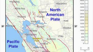 California Faults Map Hayward Fault Zone Wikipedia