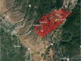 California Fires Location Map Wildfire Burns Into Paradise California forcing Evacuations