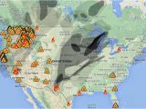 California Fires Location Map Wildfire Smoke Map August 31 2015 Wildfire today