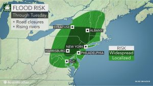 California Flood Zone Map Wet Weather to Perpetuate Flood Threat In the northeast Early This Week