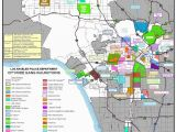California Gang Map Gang Borders Create Invisible Walls In Los Angeles Design