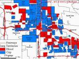 California Gang Map Maps Of California southern California Gang Territory Map Maps Of