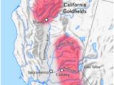 California Gold Mines Map California Gold Rush Wikipedia