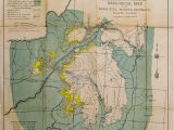 California Gold Mines Map Prints Old Rare Mining Antique Maps Prints
