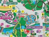 California Great America Map Park Map Six Flags Great America