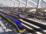 California High Speed Rail Route Map Map Shows High Speed Rail S Sluggish Progress Curbed Sf
