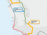 California High Speed Rail Route Map Our Maps America 2050