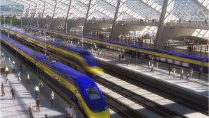 California High Speed Train Map Map Shows High Speed Rail S Sluggish Progress Curbed Sf