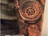 California Map Tattoo 11 Best Compass Map Tattoo Images Map Tattoos Tattoo Clock Arm