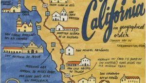 California Map with Missions Earlier This Year I Visited All 21 California Missions and Created