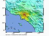 California Nevada Earthquake Map 1987 Whittier Narrows Earthquake Wikipedia