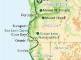 California Pch Map Map oregon Pacific Coast oregon and the Pacific Coast From Seattle
