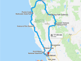 California Pch Map the Perfect northern California Road Trip Itinerary Travel