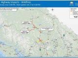 California Road Closures Map California Road Conditions Map Awesome California Road Closures Map