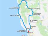 California Road Trip Trip Planner Map the Perfect northern California Road Trip Itinerary Travel