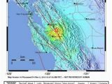 California Seismic Activity Map Bsl Hazard Information