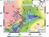 California Seismic Activity Map Risk Earthquake In St Louis Higher Than People May Realize Full