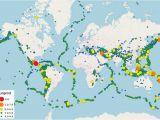 California Seismic Activity Map southern California Earthquake Map Massivegroove Com