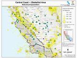 California Seismic Zone Map California Earthquake History Map New Earthquake Hazard Map Epic