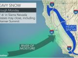 California Snow Map California Snow Map Luxury California to Face More Flooding Rain