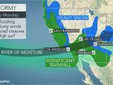 California Snow Map California to Face More Flooding Rain Burying Mountain Snow Into