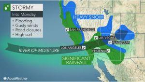 California Snowfall Map California to Face More Flooding Rain Burying Mountain Snow Into Monday