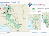 California State assembly District Map California S 15th Congressional District Wikipedia