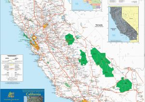 California State Map with Cities and Counties Large Detailed Map Of California with Cities and towns