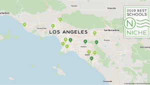 California State University Los Angeles Map 2019 Best Private High Schools In the Los Angeles area Niche