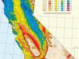 California State University northridge Map Earthquake Map northern California Printable Maps California Average