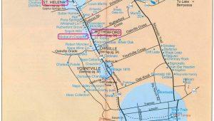 California Wine tours Map Printable Napa Wine Map Sanda Kaufman S Image Collection Napa