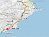 Calpe Spain Map Map Of Calp Michelin Calp Map Viamichelin