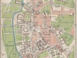 Cambridge On A Map Of England Antique Map Of Cambridge Stock Photos Antique Map Of Cambridge