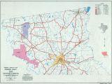 Cameron County Texas Map Texas County Highway Maps Browse Perry Castaa Eda Map Collection